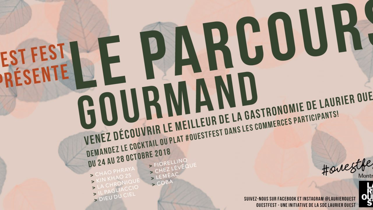 OuestFest Parcours Gourmand